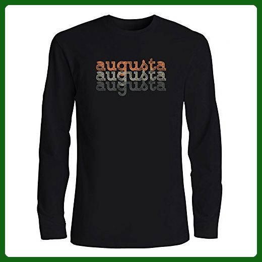 cdcb6917 Idakoos - Augusta repeat retro - US Cities - Long Sleeve T-Shirt - Retro  shirts (*Amazon Partner-Link)