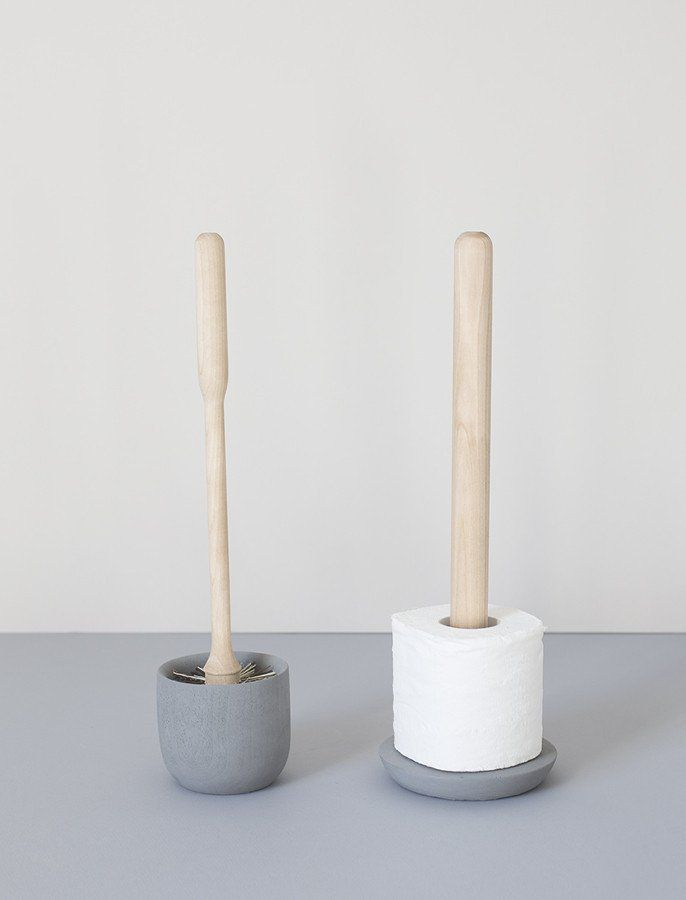 Toilet Brush And Roll Holder Set Bathroom Toilet Roll Holder