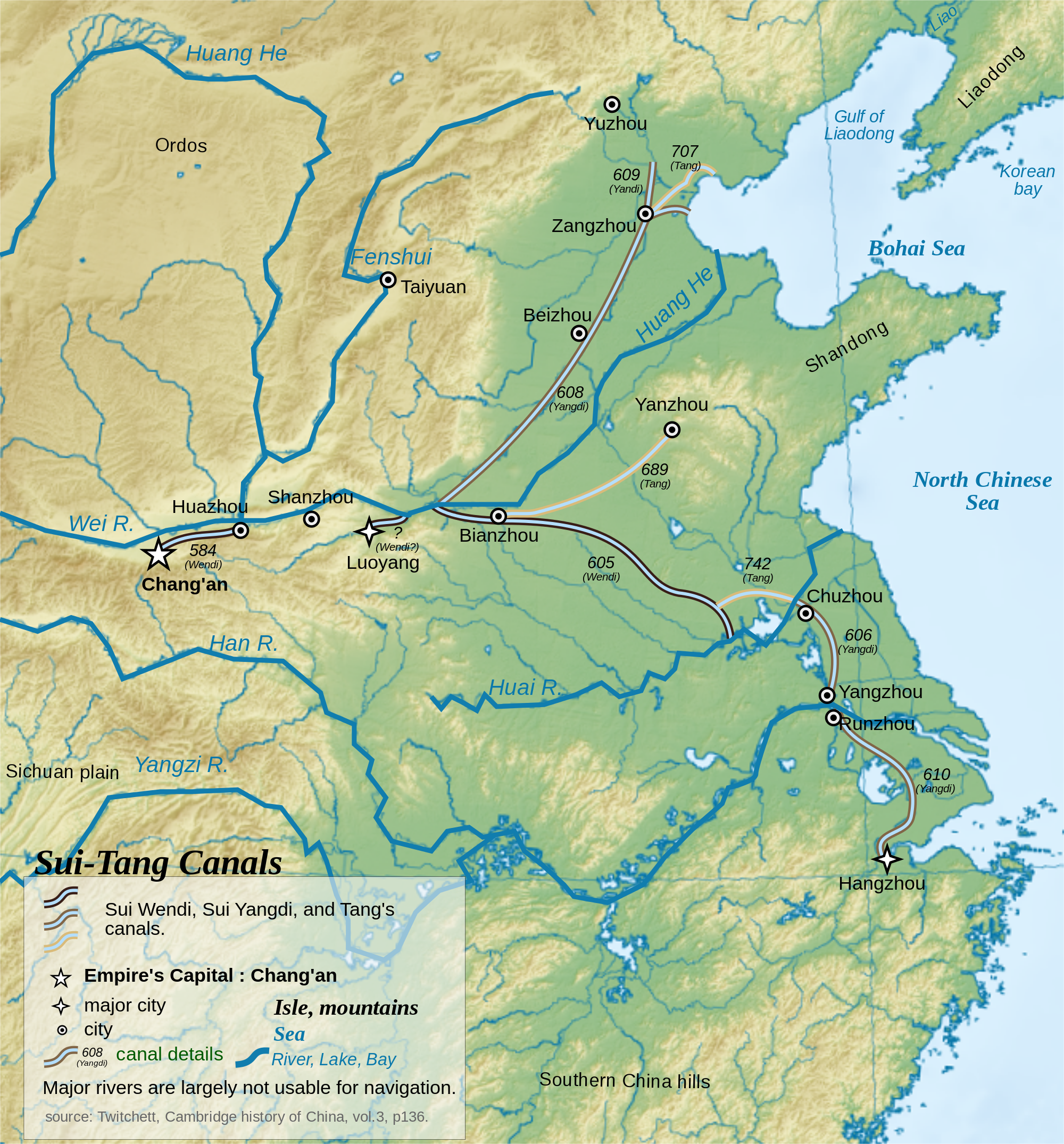 Image result for ancient chinese water channel