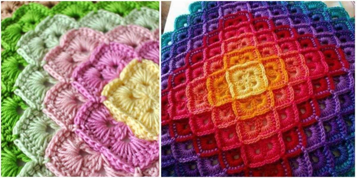Shells and the Box Stitch - Crochet Blanket [2 x Free Pattern ...