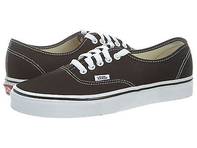 64a1a89cbc706a Vans Authentic Slim Mens VN-0EE3-BLK Black White Casual Shoes Sneakers Size  4.5