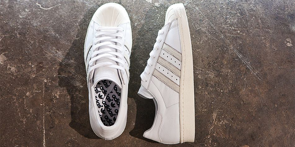 Adidas Superstar 80s Primeknit / Adidas Superstar comparison