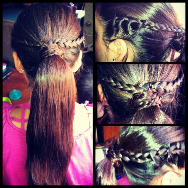 Cute & Easy Braid Ponytail :)