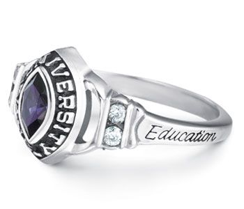 Pin By Jostens On College Ring Designs Class Ring Rings