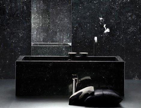 Black Marble Bathroom Zamp Co
