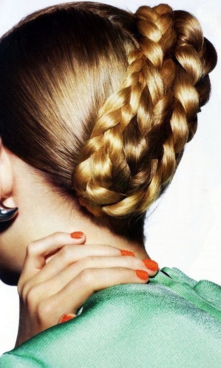 Caviar nails braided hair ✤ | Keep the Glamour | BeStayBeautiful