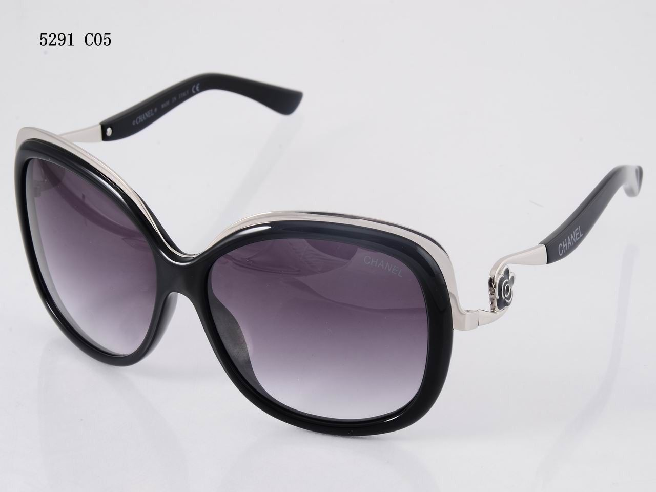 0f437af0 Acetate & patent lambskin-black sunglasses from the ...