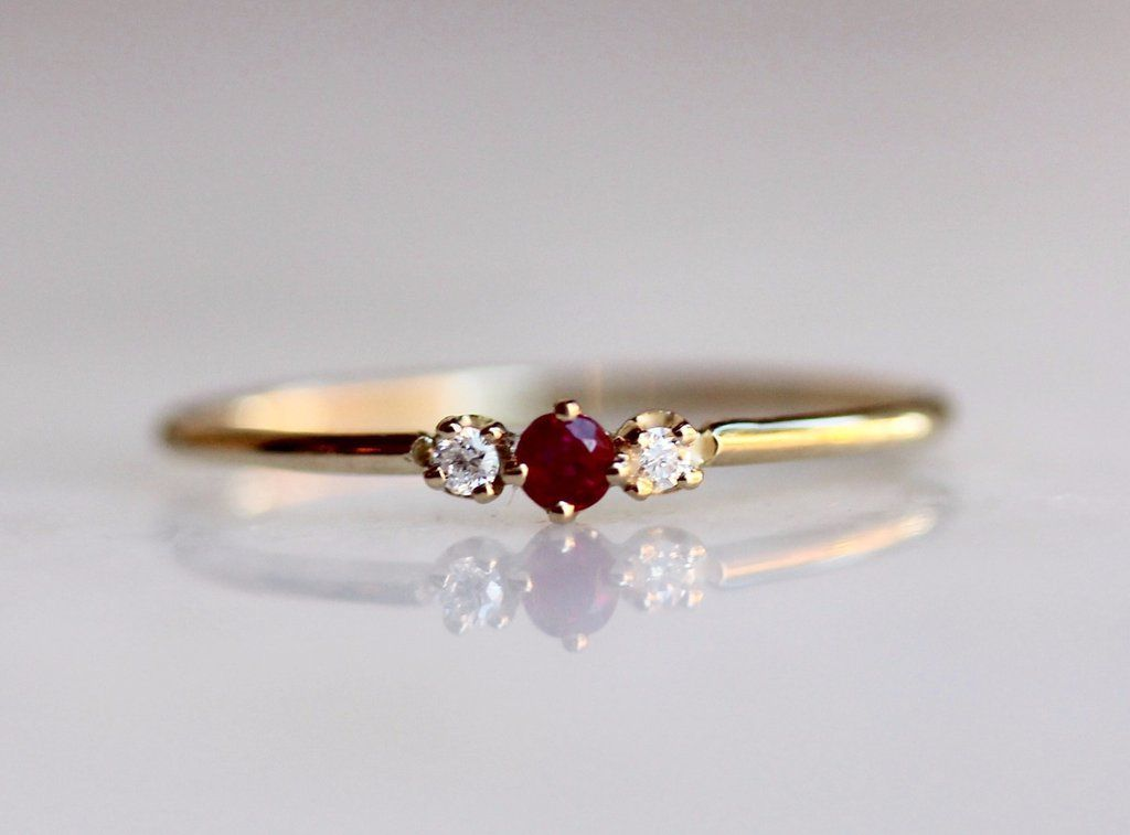 Ruby Tuesday Ring