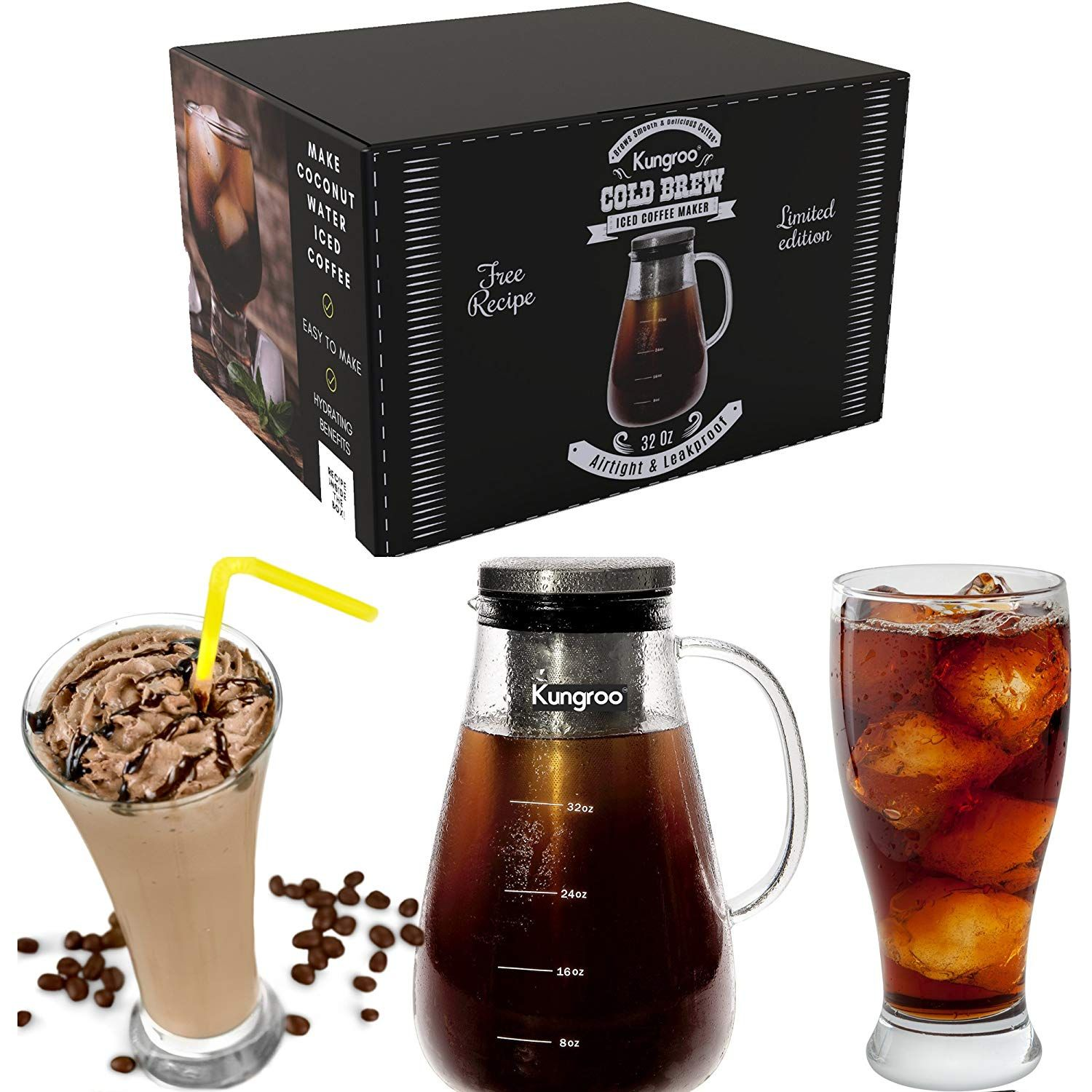 Cold Brew Iced Coffee Makers Top 10 Best Review