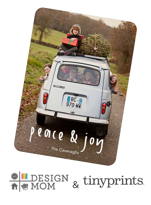 $200 Gift Certificate to Tiny Prints! Giveaway starts today. Repin to win!