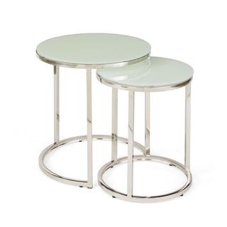 Captivating Shop For White Glass Nesting Tables. Get Free Shipping At Overstock.com    Your