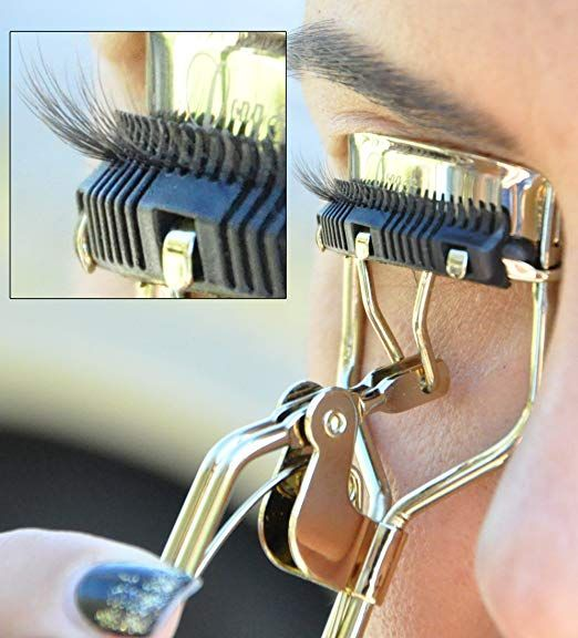 Eyelash Curler with Built-In Comb Attachment. Best New ...
