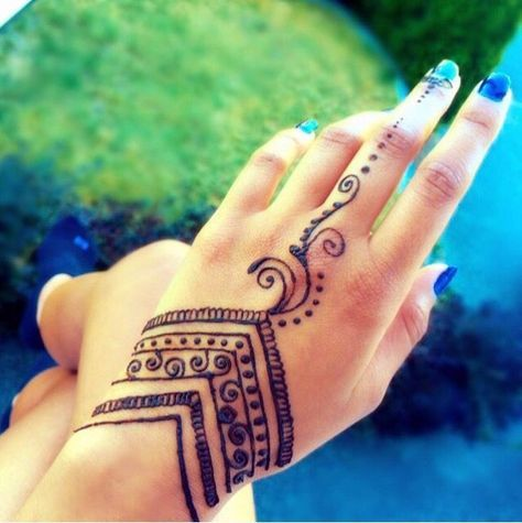 Resultado De Imagen Para Henna Sencilla Simple Henna Tattoo
