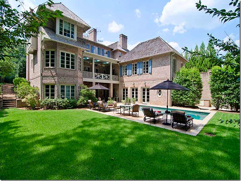 Normandy Inspired Brick Beauty In Buckhead My Dream House