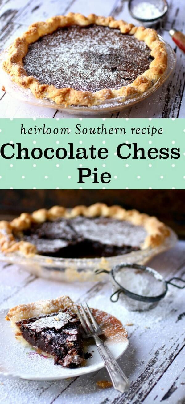 Photo of Chocolate Chess Pie: Fudgy Southern Classic Recipe