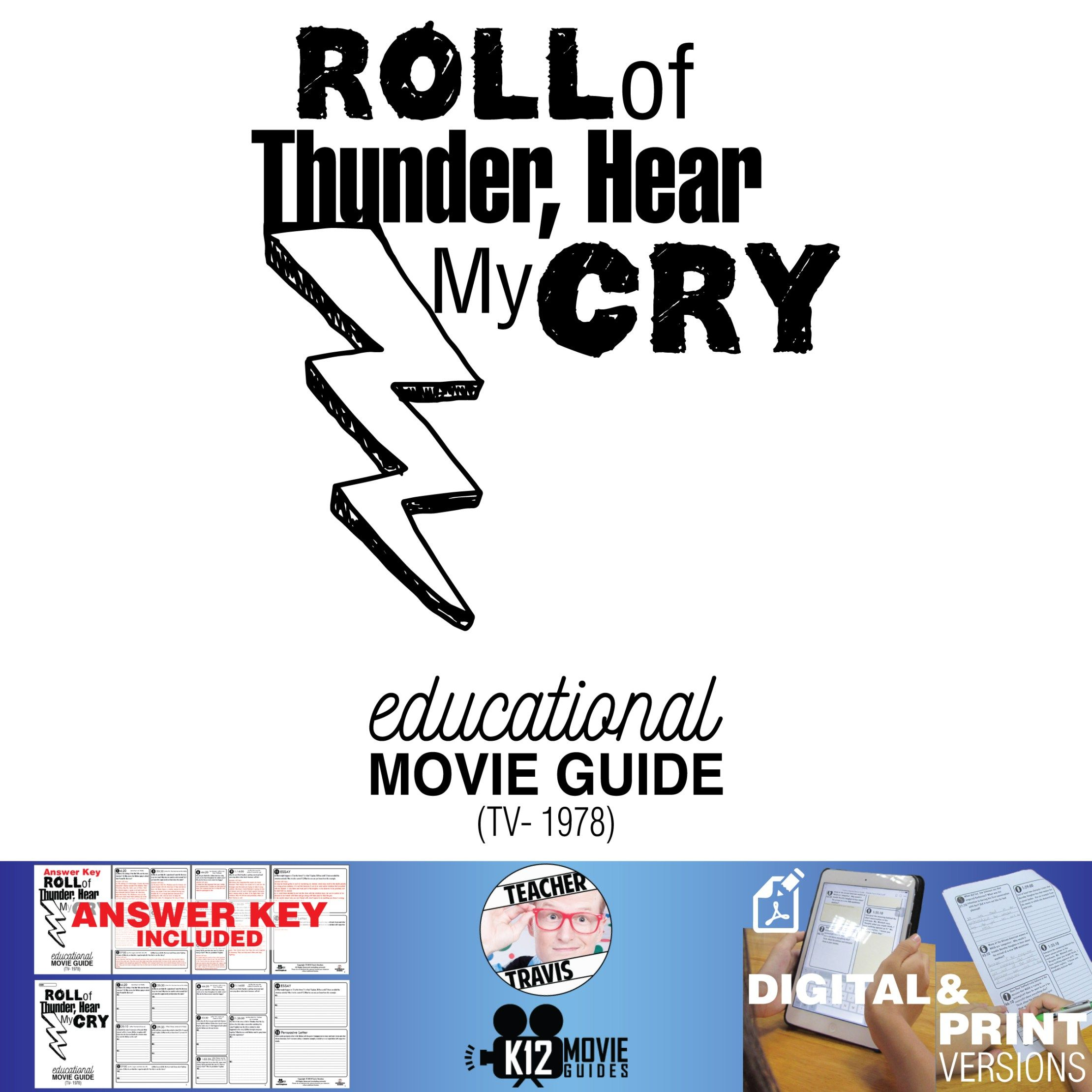 Roll Of Thunder Hear My Cry Movie Guide