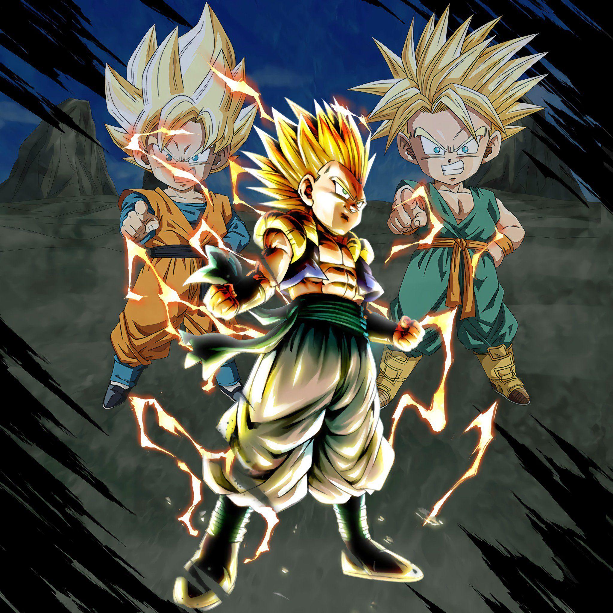 Gotenks Ssaiyanjin Dragon Ball Super Dragon Ball Z Dragon Ball