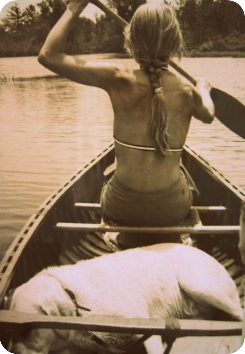 canoes & dogs = <3