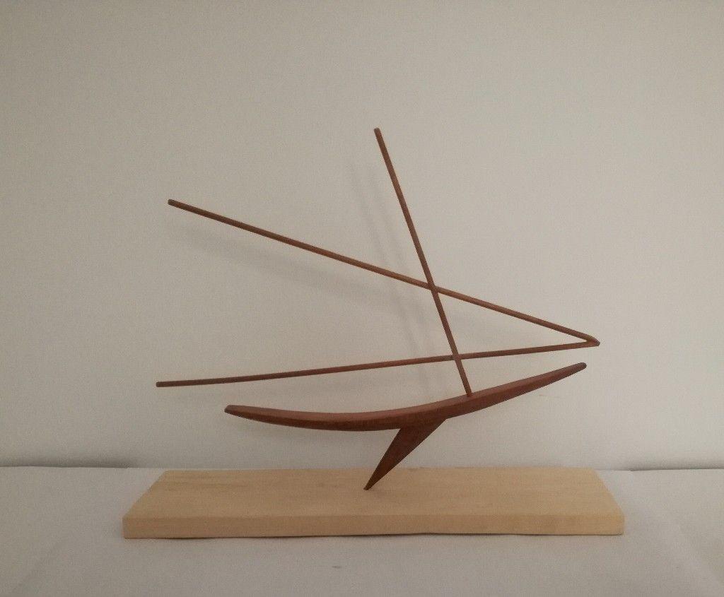Latin Sailboat By Manolo Lafora Art Sculpture