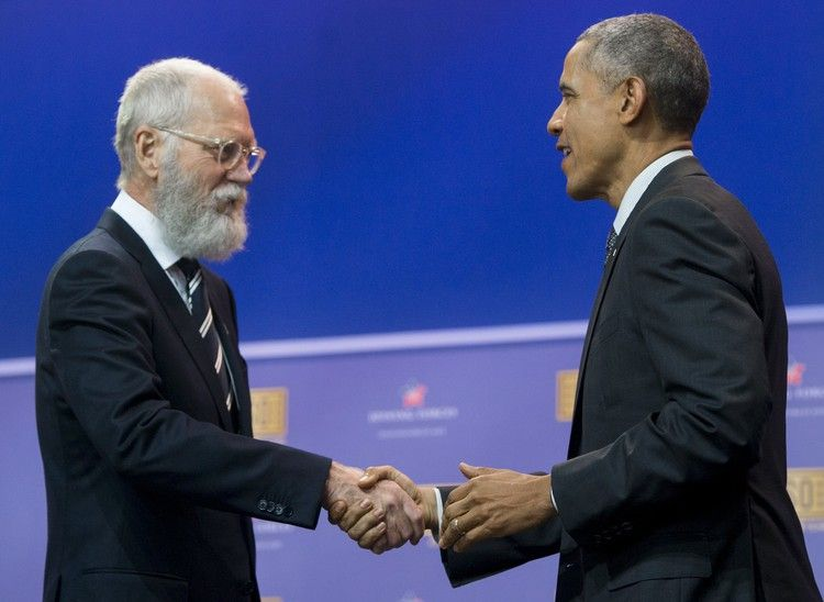 Barack Obama Is Teaming Up With David Letterman for a Post-Presidency First