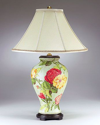 Rose bouquet table lamp traditional table lamps products i love rose bouquet table lamp traditional table lamps aloadofball Gallery