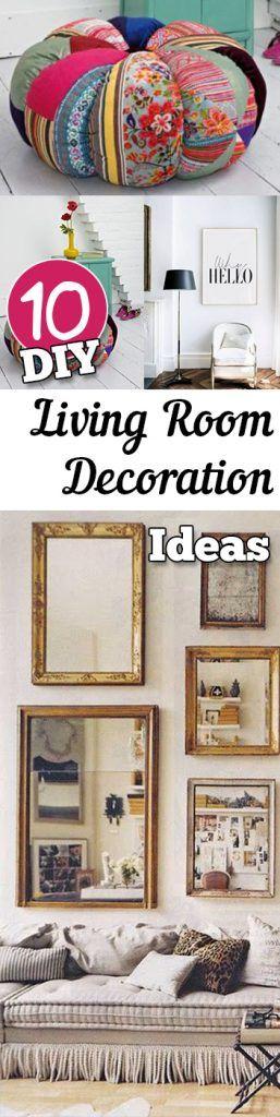 10 DIY Living Room Decoration Ideas