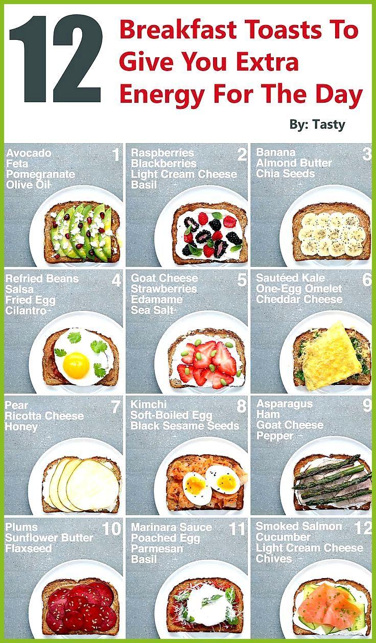 12 Frühstückstoasts, um Ihnen zusätzliche Energie für den Tag zu geben #den #Energie #Fitness food b...