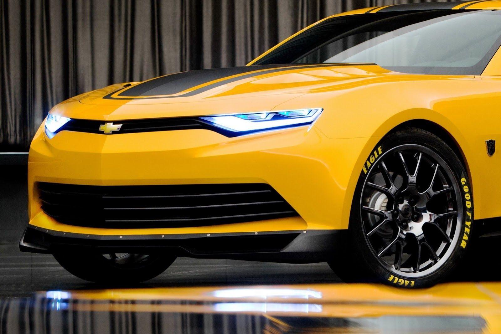 Chevrolet camaro 2014 transformers 4 bumble bee just got more badass