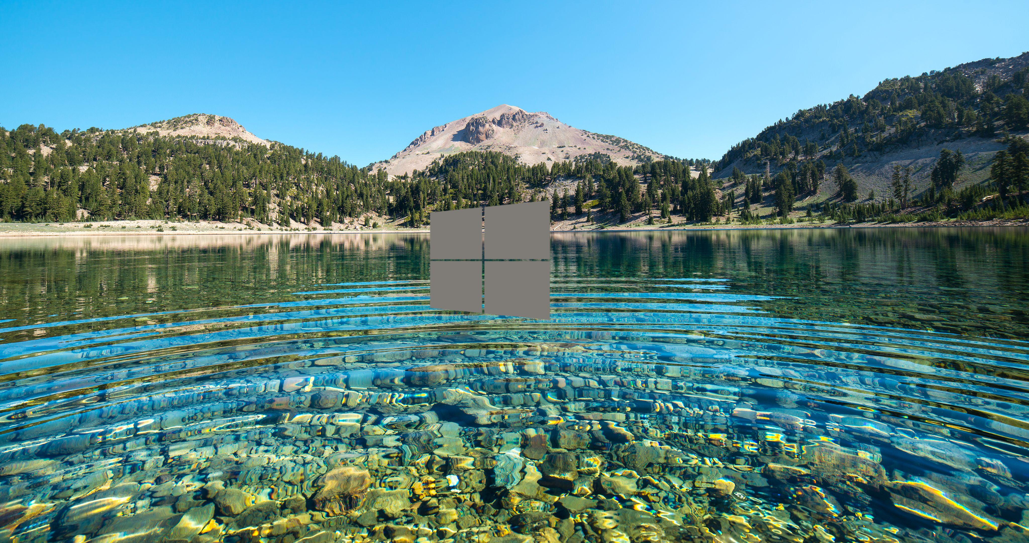 Nature windows wallpaper 4k imagens) Lago, Papel de