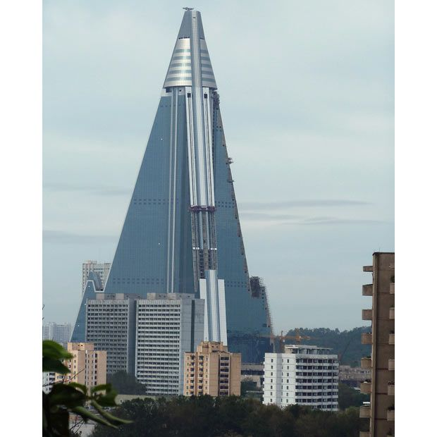 North Korea S Ryugyong Hotel In Pyongyang To Open 24 Years After Building First Started