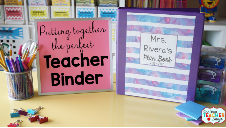 Editable Teacher Binder | Print & Digital Teacher Planner 2019-2020 FREE Updates #teacherplannerfree