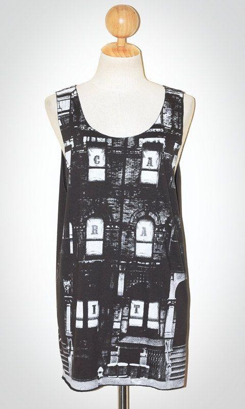 e6adefc23c691 Led Zeppelin Building Black Singlet Tank Top Sleeveless Alternative Metal  Rock T-Shirt Size M