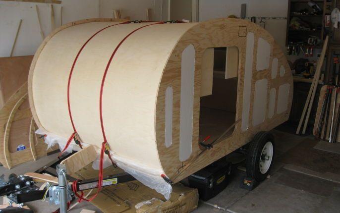 Wall Insulation and Headliner   Teardrop Campers   Teardrop