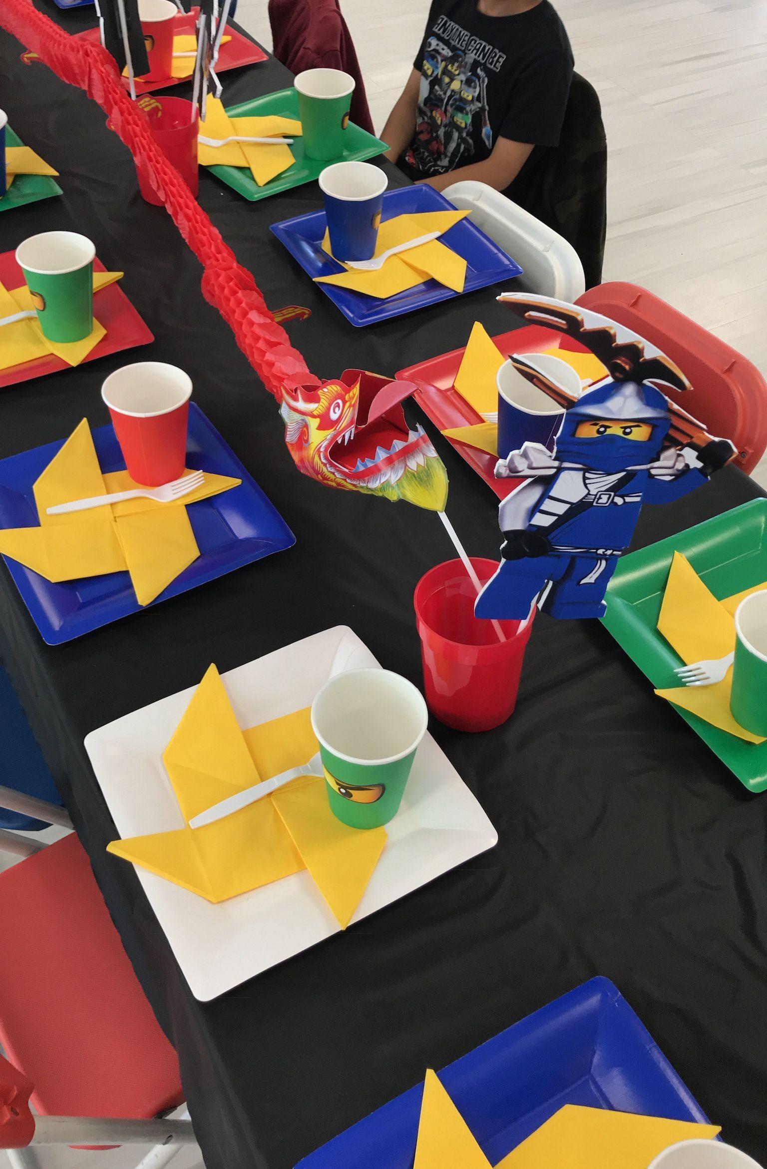 Lego Ninjago Party Ideas Ninja Party Theme Decorations Lego