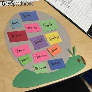 Speech Snails!  A fun and easy craft for speech and language skills practice.