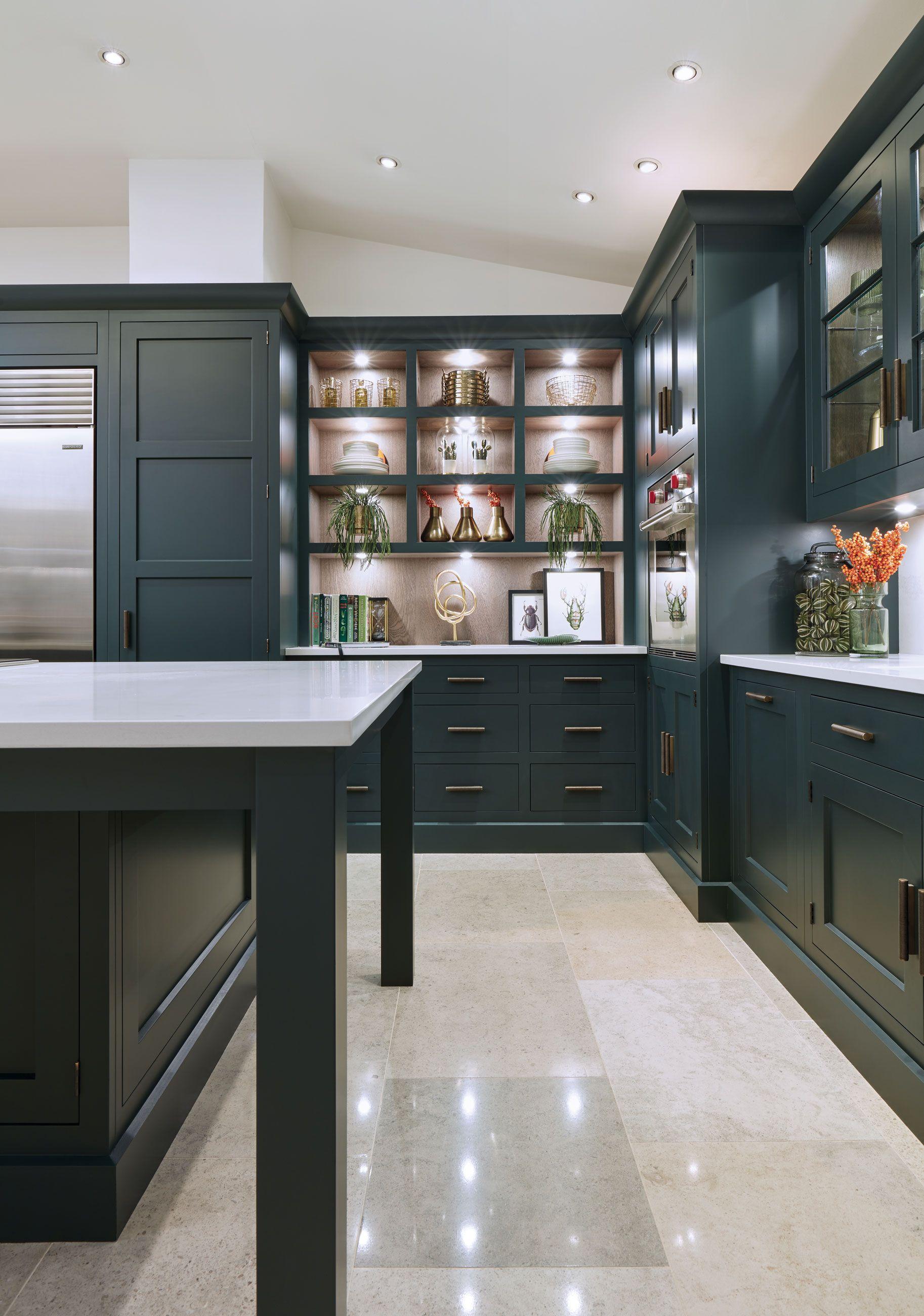 Dark Green Shaker Style Kitchen Shaker style kitchens