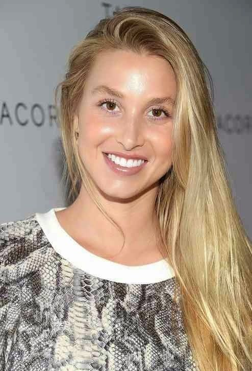 Whitney Port Long Hairstyle Blonde img56aeac06f914d17f5