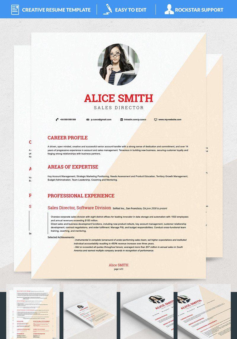 Alice resume template 69112 resume template business