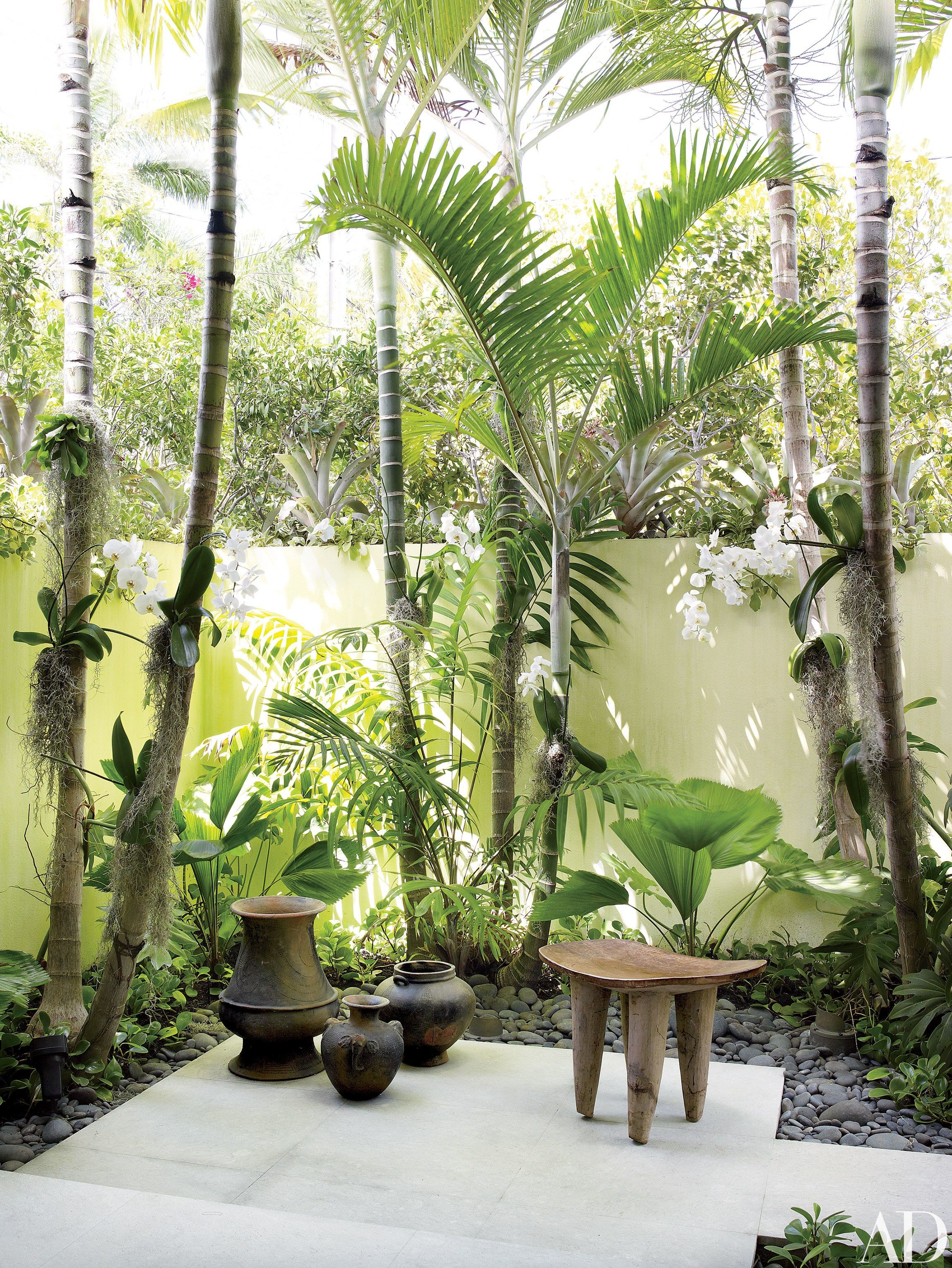 Judy Blume's Tropical Indoor-Outdoor Residence in Florida Photos | Architectural Digest