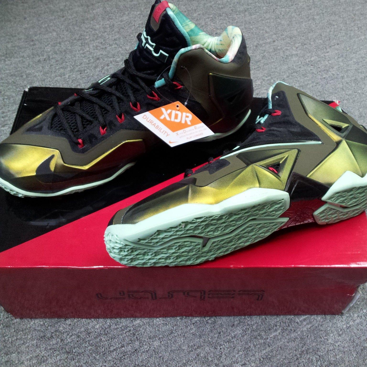the best attitude a0b1b 573df Nike LeBron 11 King s Pride