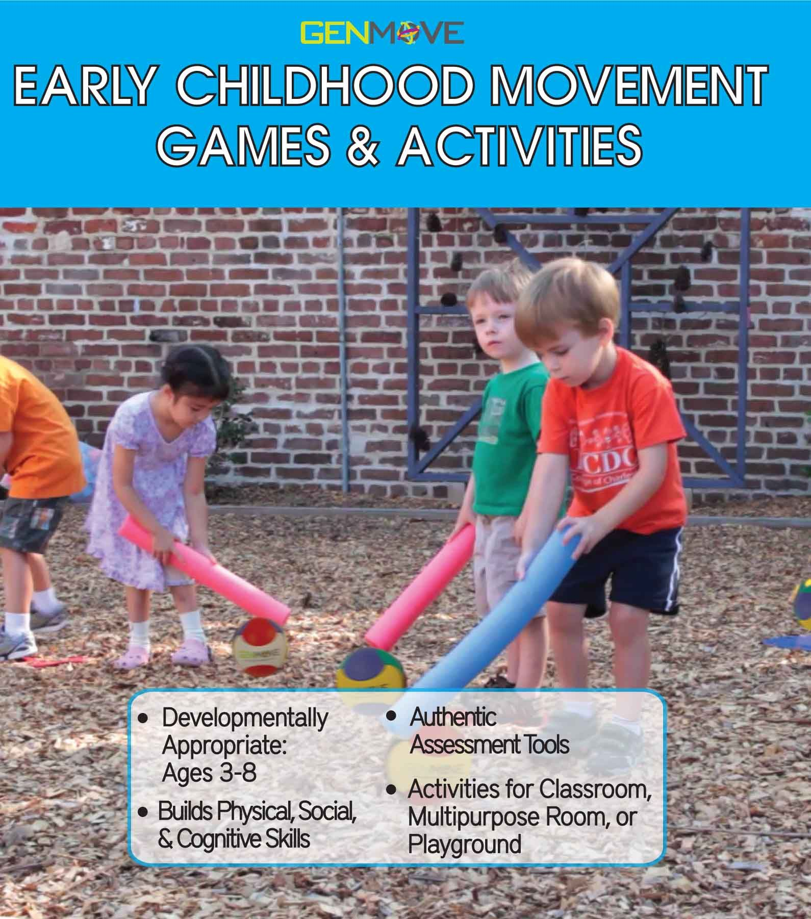 Early Childhood Movement Games & Activities Develop