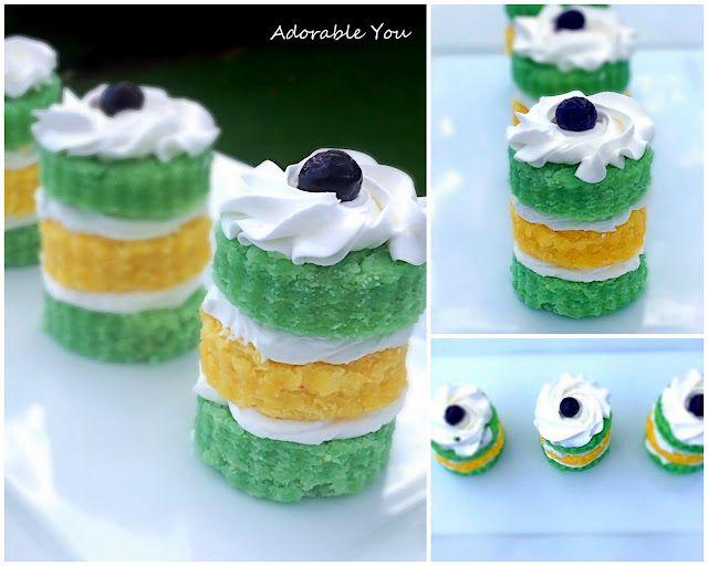 milk-free mini Jello cake recipe