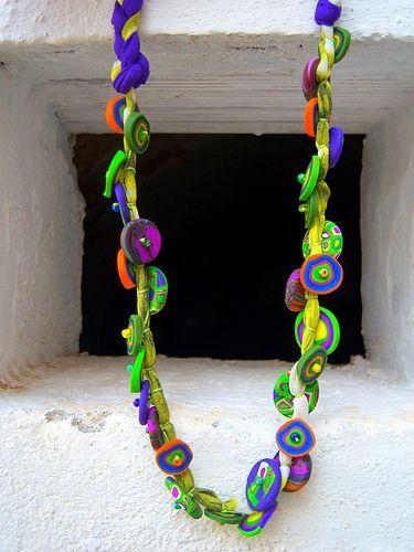 collar inspirado en uno realizado por Tatana