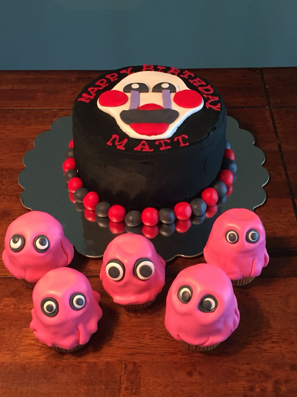 Five Nights at Freddy's | Fnaf cake, Monster birthday ...