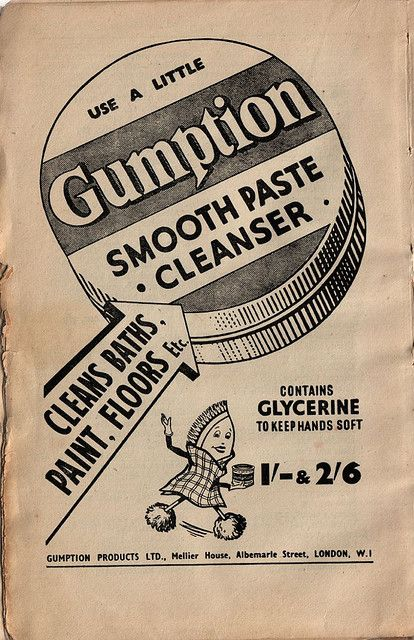 Use a little Gumption | Floor cleaner, Albemarle, Good housekeeping