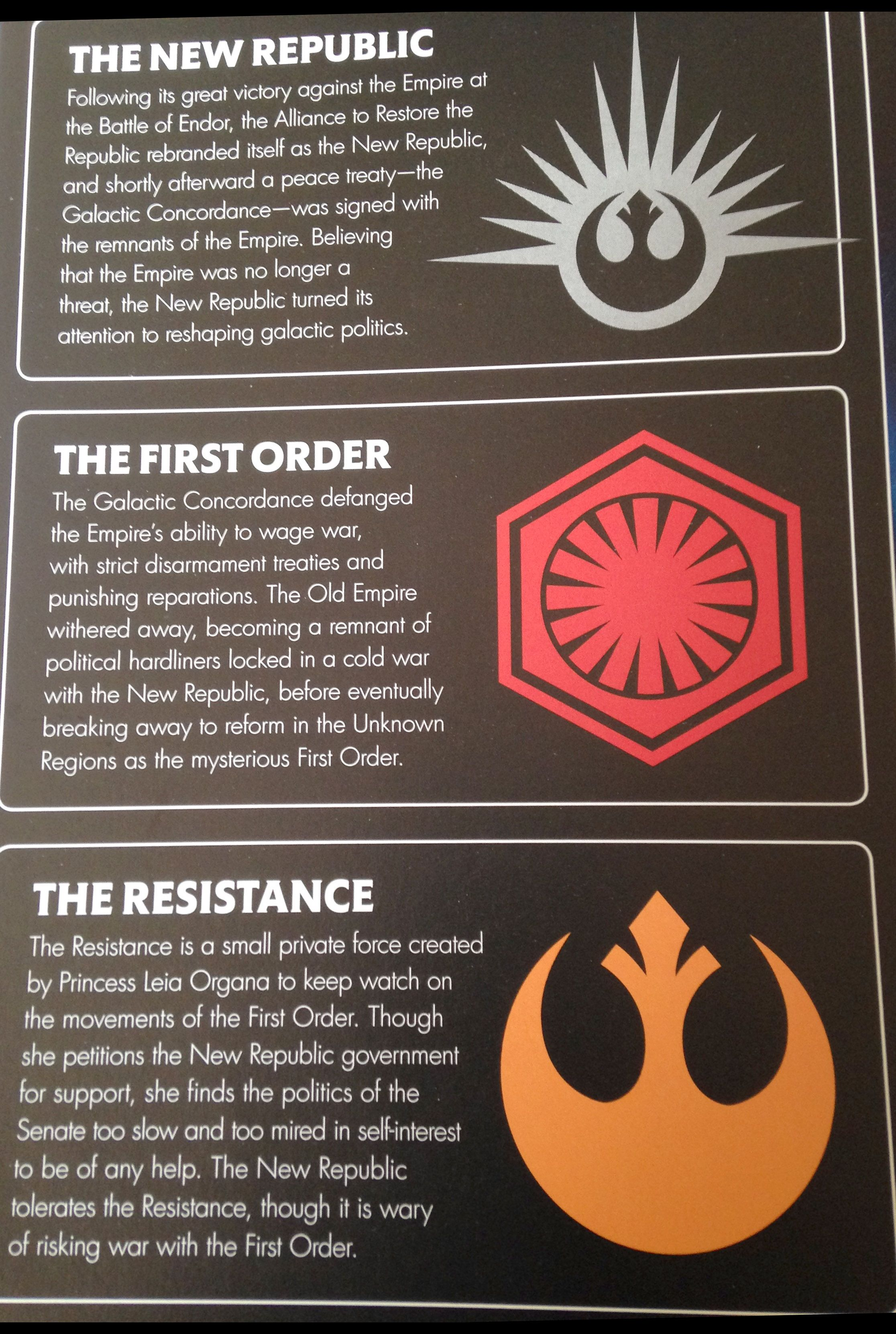 The State Of The Galaxy In Star Wars The Force Awakens