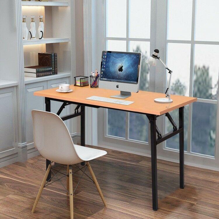 Office Deskorganization: Computer Desk Folding Table PC Laptop Study Workstation