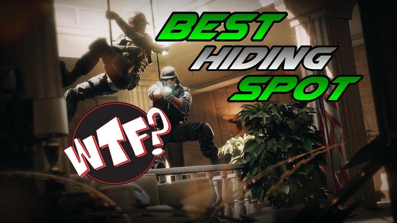 Rainbow Six Siege - BEST HIDING SPOT EVER!!!   Gaming