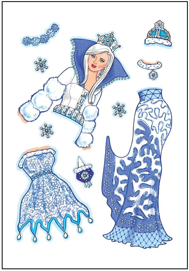 Six Little Steppers Paper Dolls Sweet paper doll by Charlot Byj