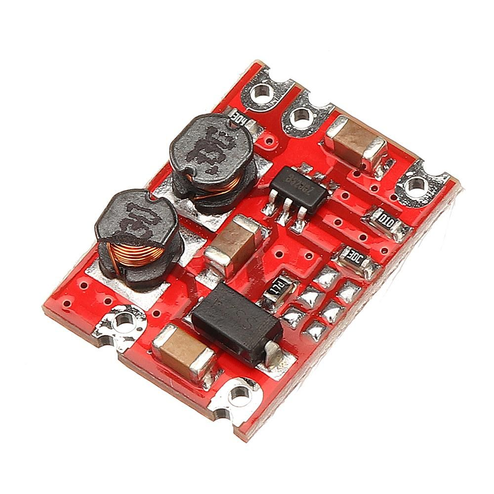 DC-DC 3V-15V to 5V Fixed Output Automatic Buck Boost Step Up Step Down Power Supply Module